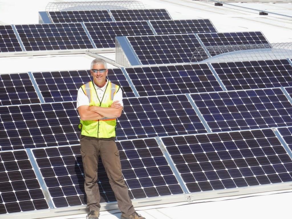 Solar install honer roll