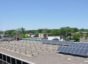 St Paul Green solar
