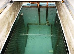 Wisconsin Solar Hot Water reservoir
