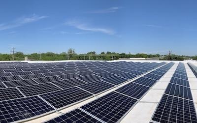 Economics. Sterns, Solar Farm
